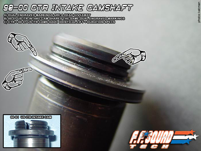 Identify these cams   Pics inside - Honda-Tech - Honda Forum