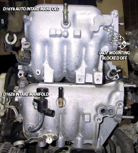 Whats The Difference Between The Auto And Manual Intake
