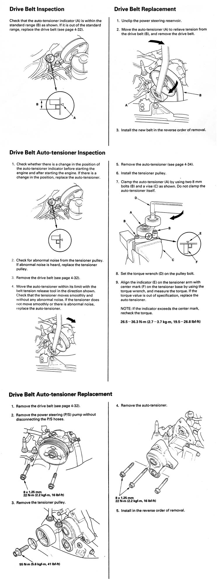 how to check timing tensioner      Honda   Tech     Honda    Forum