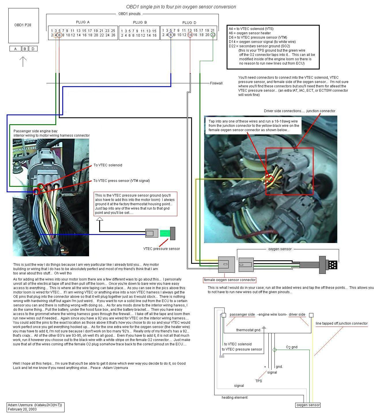 cx 02fix+vtecdiagram b18b 02 sensor wiring question honda tech honda forum discussion 2000 honda civic o2 sensor wiring diagram at bayanpartner.co
